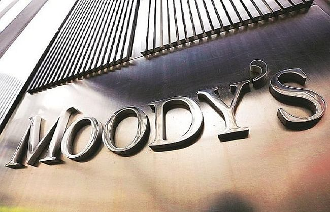 मूडीज ने कहा, 2020 में भारत की जीडीपी में 3.1 फीसदी की गिरावट संभव