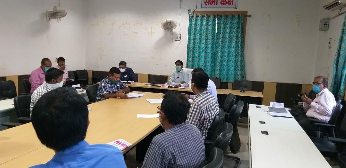डीएम ने खरीफ विपणन धान अधिप्राप्ति की समीक्षा बैठक में दिए आवश्यक निर्देश