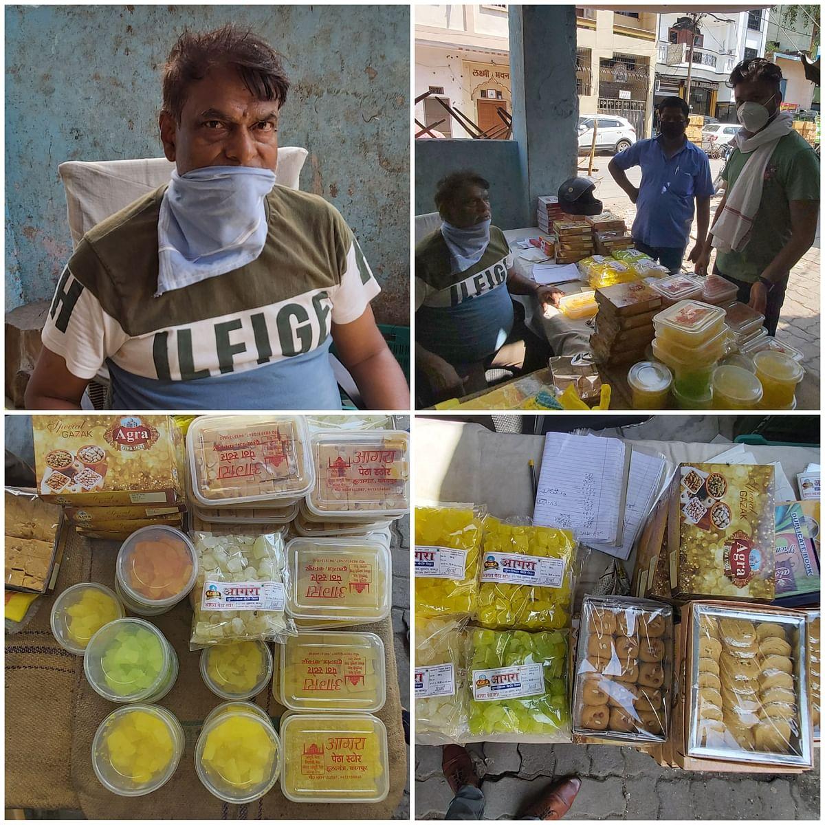 कोरोना ने फीकी की कानपुर के पेठे की मिठास, बिक्री में आई भारी गिरावट