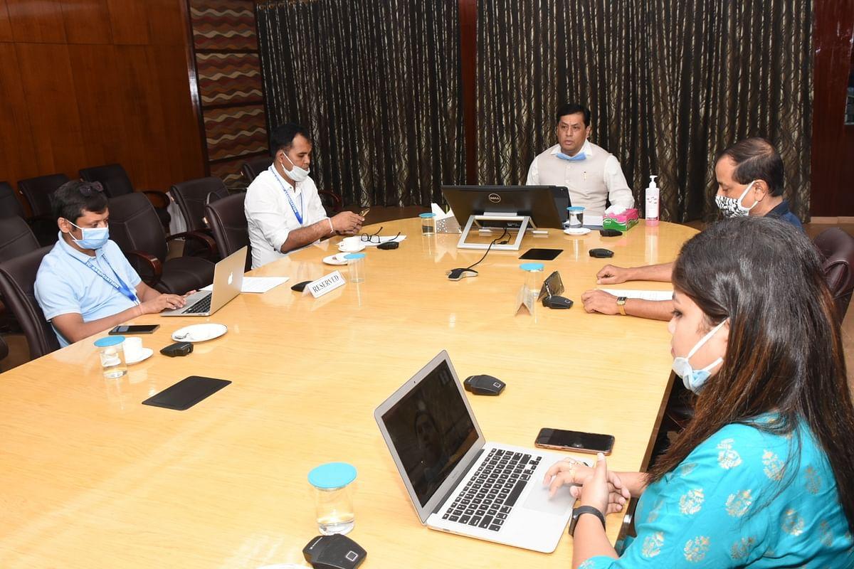 सीएम ने स्टेट ओलंपिक एसोसिएशन के साथ की बैठक
