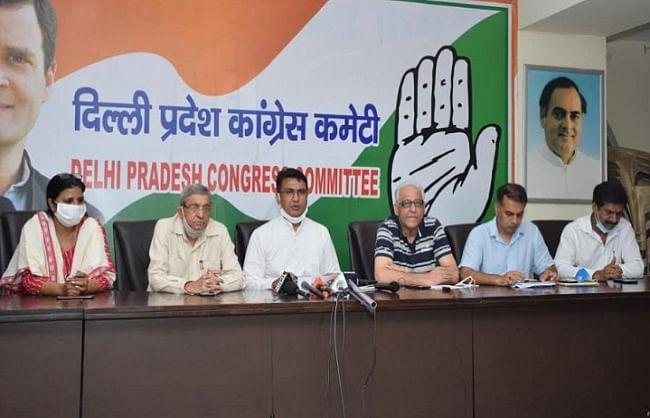 नगर निगम और दिल्ली सरकार दोनों मिलकर लोगों की जेब काट रहीं : अनिल कुमार