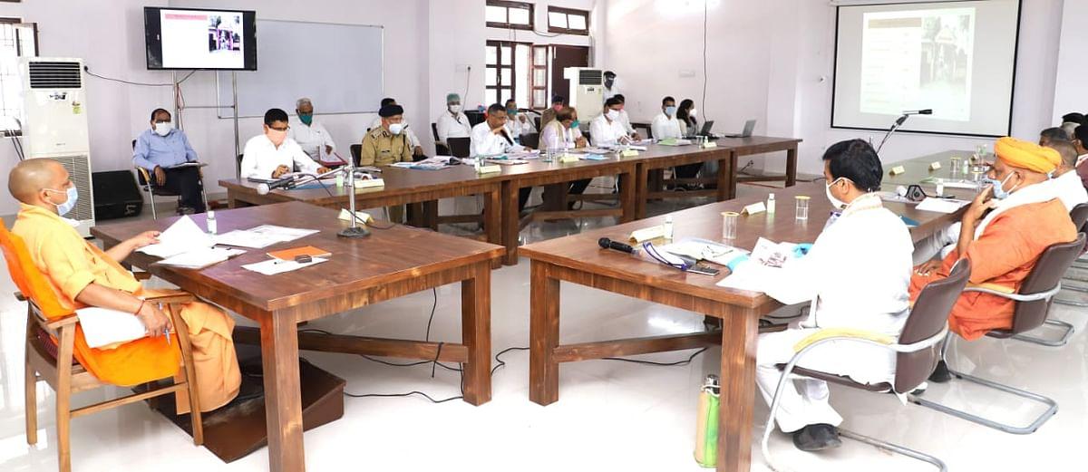 मुख्यमंत्री योगी ने बलिया में मेडिकल कालेज खोलने की इच्छा जतायी