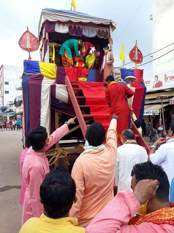 दुर्ग : महाप्रभु श्री जगन्नाथ स्वामी जी की 52वीं रथयात्रा महोत्सव आयोजित