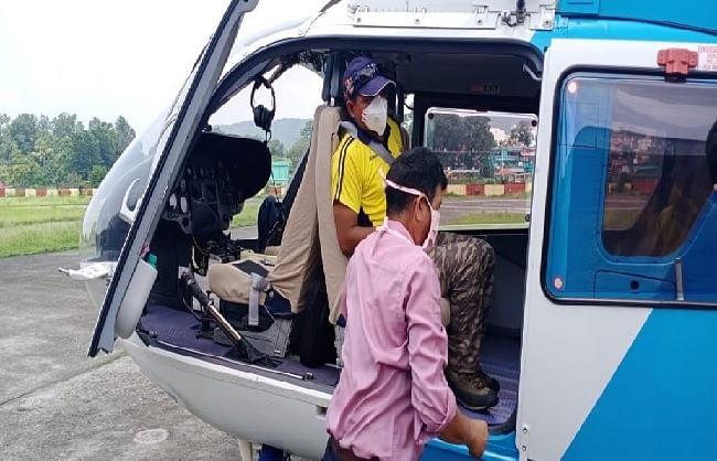 उत्तराखंडः वासुकीताल ट्रैक पर लापता हुए चारों ट्रैकर एसडीआरएफ को सुरक्षित मिले