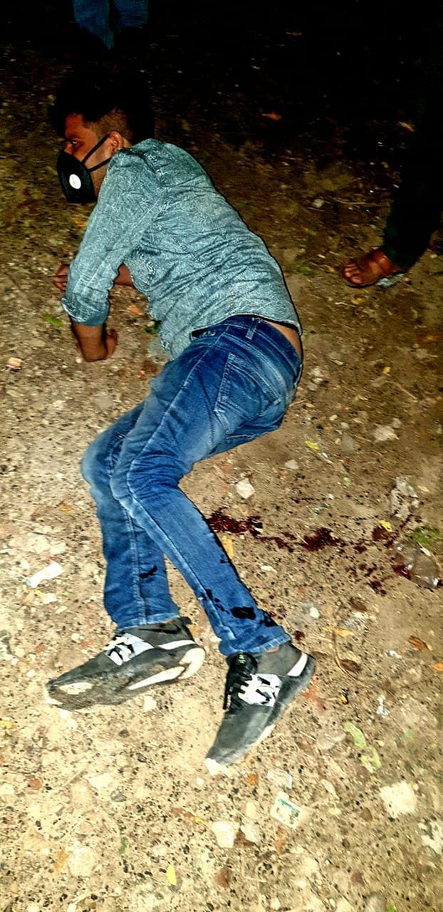 लखनऊ : मुठभेड़ में पुलिस की गोली से बदमाश घायल, चार गिरफ्तार
