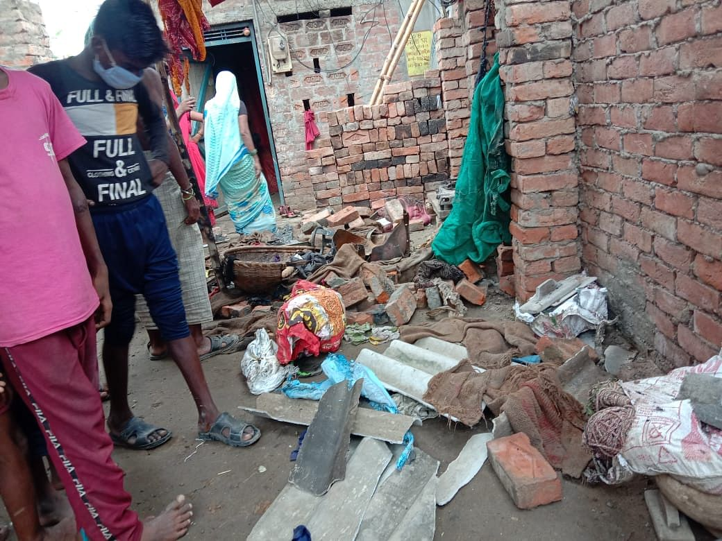 सारनाथ में घरेलू गैस सिलेंडर में विस्फोट से आधा दर्जन लोग जख्मी, एक गंभीर