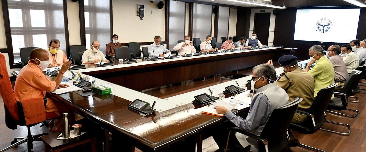 कोरोना संक्रमण रोकने को मुख्यमंत्री योगी ने दिया नया लक्ष्य, कहा- 35 हजार टेस्ट प्रतिदिन किए जाएं