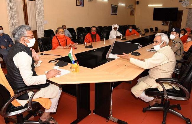 हरिद्वार में निर्धारित समय पर होगा कुम्भ मेले का आयोजन: मुख्यमंत्री