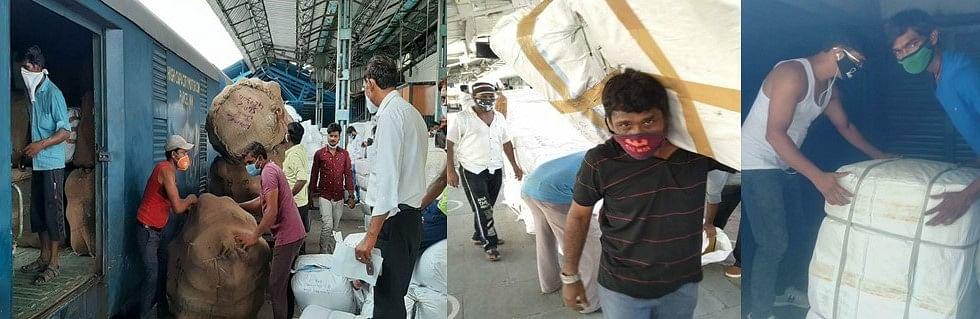 पश्चिम रेलवे : 403 पार्सल विशेष गाड़ियों से 78 हजार टन अत्यावश्यक सामग्री का परिवहन