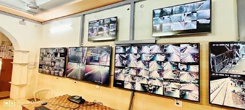 कानपुर सेंट्रल पर अत्याधुनिक सीसीटीवी कंट्रोल रूम का शुभारम्भ