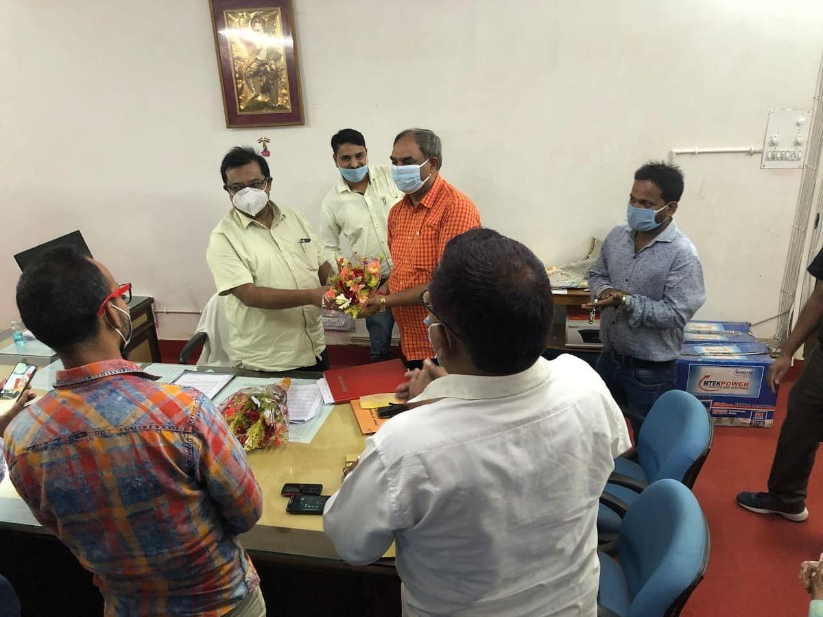 संजय बिहारी अंबष्ठ ने 38 वेंडीडीसी गुमला के रूप में प्रभार ग्रहण किया