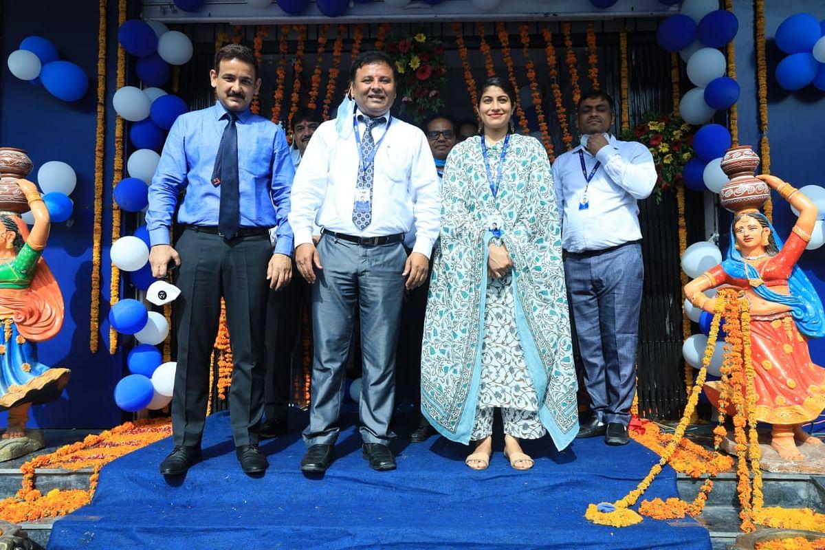एसबीआई ने उदयपुर शहर में एक साथ चार नवीन शाखाएं शुरू की