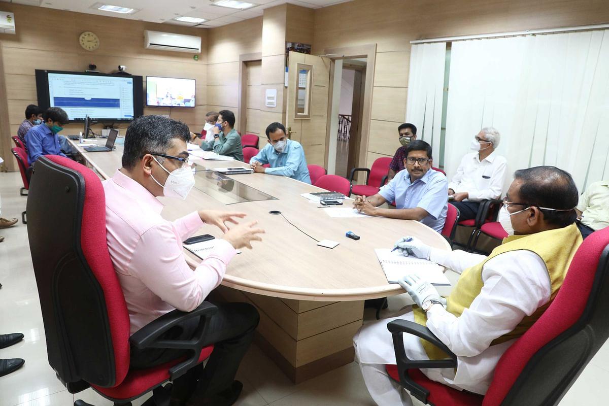 भोपाल जैसा इंक्यूवेशन सेंटर अन्य स्मार्ट सिटी में भी बनायें : मंत्री सिंह