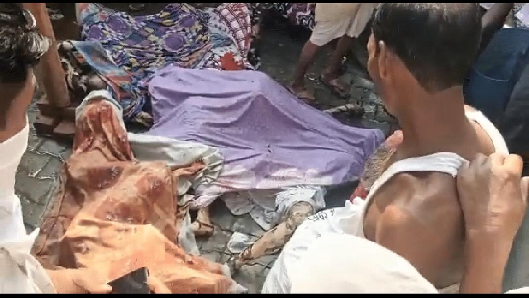 मोदीनगर में मोमबत्ती फैक्टरी में भीषण अग्निकांड, छह मरे