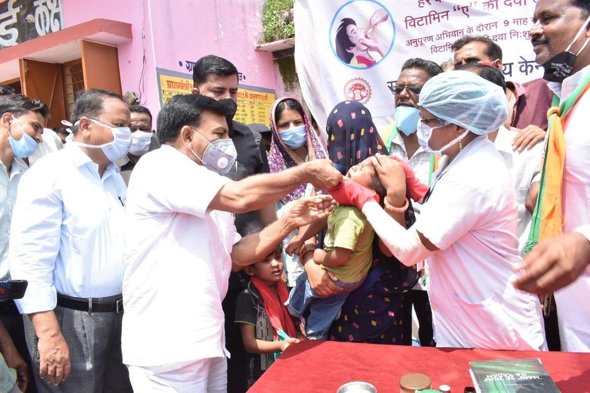 मंदसौर : वित्त मंत्री देवड़ा ने किया अनुपूरण अभियान का शुभारंभ