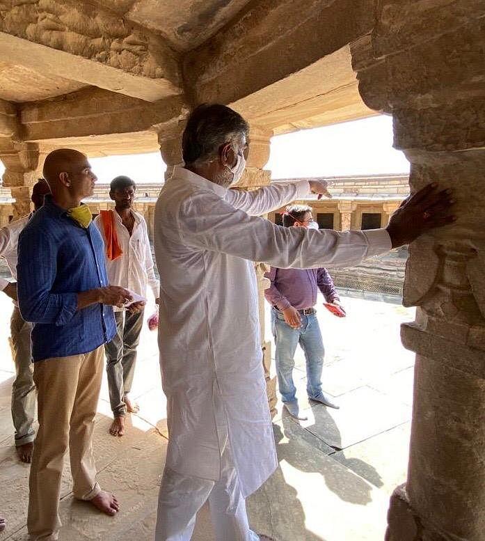 केन्द्रीय पर्यटन मंत्री ने देखीं जिले में पर्यटन की संभावनाएं