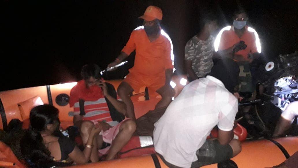 सूबे के बाढ़ प्रभावित जिलों में एनडीआरएफ का राहत व बचाव ऑपरेशन जारी