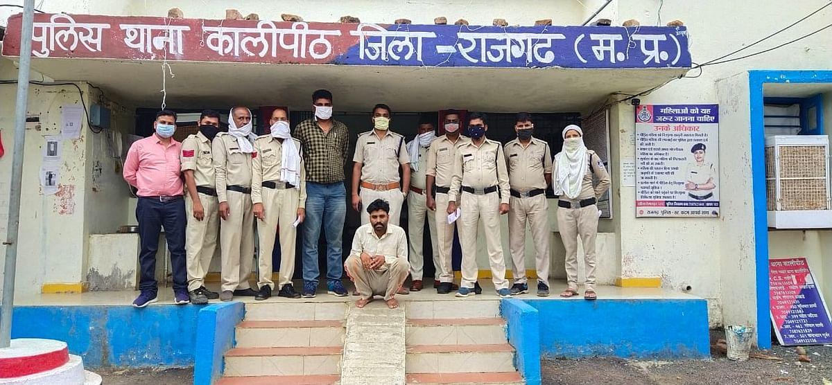 सामूहिक बलात्कार के मामले में फरार इनामी आरोपित गिरफ्तार