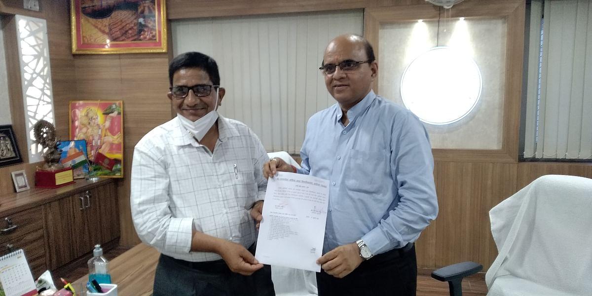 प्रो. रवि शंकर ने अवध विश्वविद्यालय के कुलपति का कार्यभार ग्रहण किया