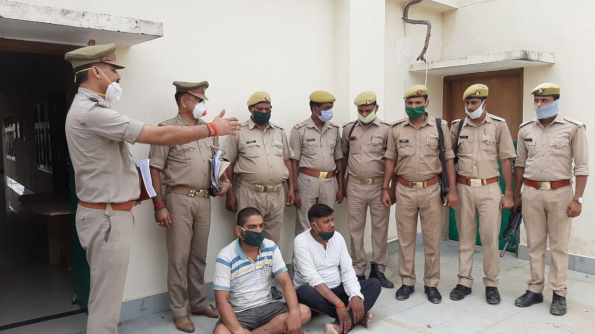 वाराणसी : दोस्त के रुपए हड़पने पर हुई थी राकेश की हत्या, दो हत्यारोपी गिरफ्तार