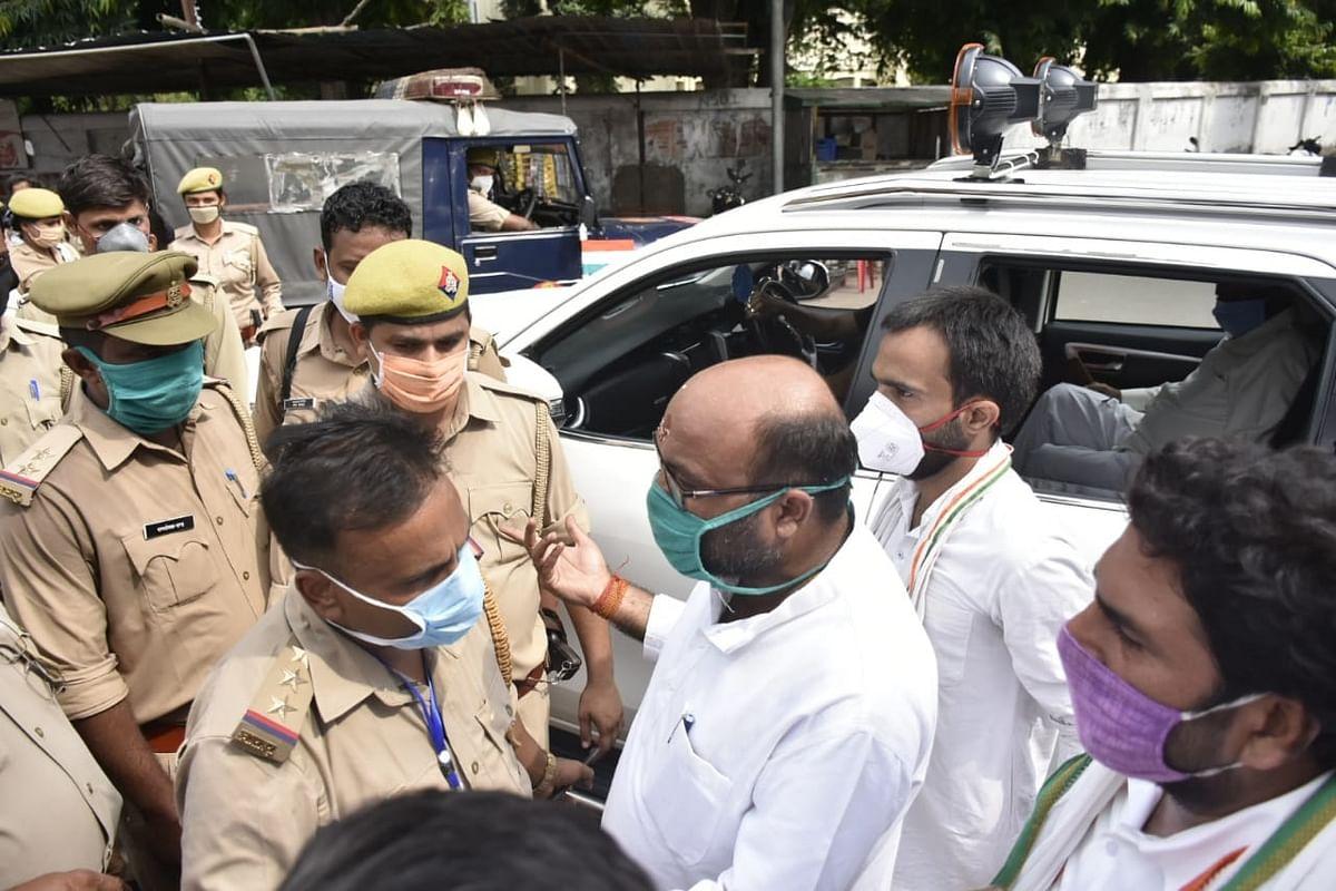 राज्य की कानून व्यवस्था अपराधियों के आगे बेबस, मुख्यमंत्री योगी दें इस्तीफा-अजय लल्लू