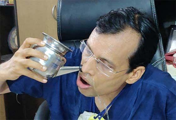 कोरोना वायरस से बचाव करेगी-जल नेति