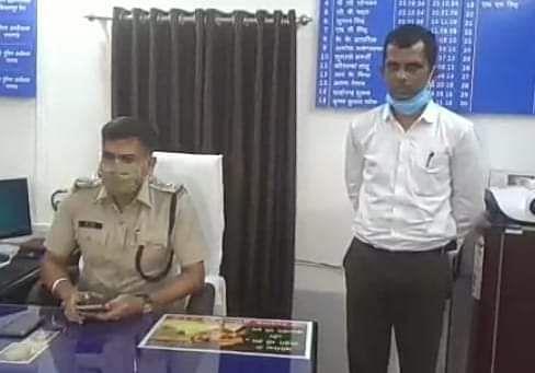 फरार सूदखोर अजय ओडीसा के बरगढ़ से गिरफ्तार