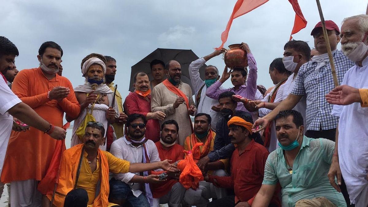 श्रीराम मंदिर निर्माण: भूमि पूजन के लिए विहिप कार्यकर्ता 30 को संगम का जल व मिट्टी लेकर पहुंचेंगे अयोध्या