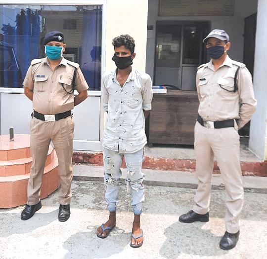 किशोरी को भगा कर ले जाने वाला युवक गिरफ्तार