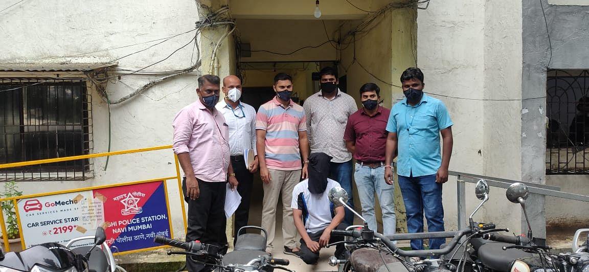 लॉक डाउन में व्यवसाई बना चोर , आठ वाहन जप्त