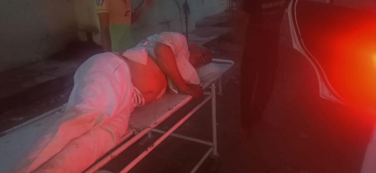 बावल सब्जी बेचने जा रहे विक्रेता को बदमाशों ने मारी गोली, घायल जयपुर रेफर