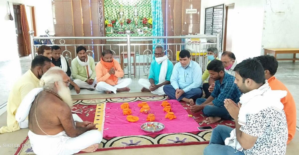 श्रीराम मंदिर की नींव में रखी जायेगी बुद्ध धरा की मिट्टी