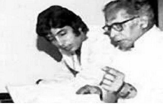 अमिताभ बच्चन ने खास अंदाज में दी गुरु पूर्णिमा की बधाई, शेयर की पिता की तस्वीर