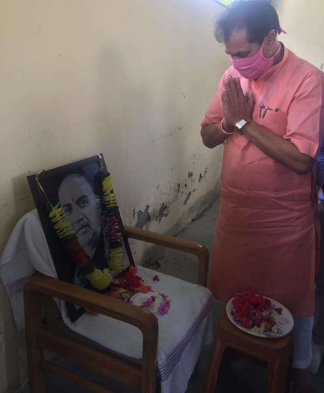 विधानसभा अध्यक्ष ने डॉ. श्यामा प्रसाद मुखर्जी को याद किया