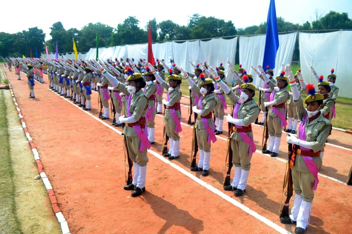 वाराणसी: 347 महिला सिपाहियों ने पूरी की ट्रेनिंग, दीक्षांत के साथ पुलिस विभाग का बनी हिस्सा
