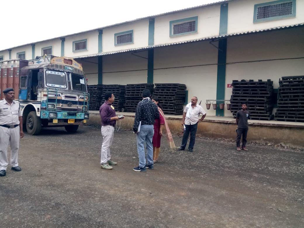 वेयरहाउस से चावल चोरी के मामले में अनूपपुर कोतवाली में एफआईआर के लिए पत्र