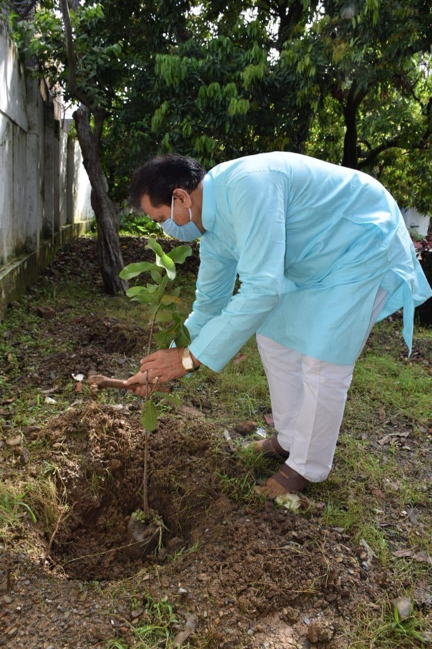 उत्तराखंडः करगिल शहीदों की याद में विधानसभा अध्यक्ष ने किया पौधरोपण