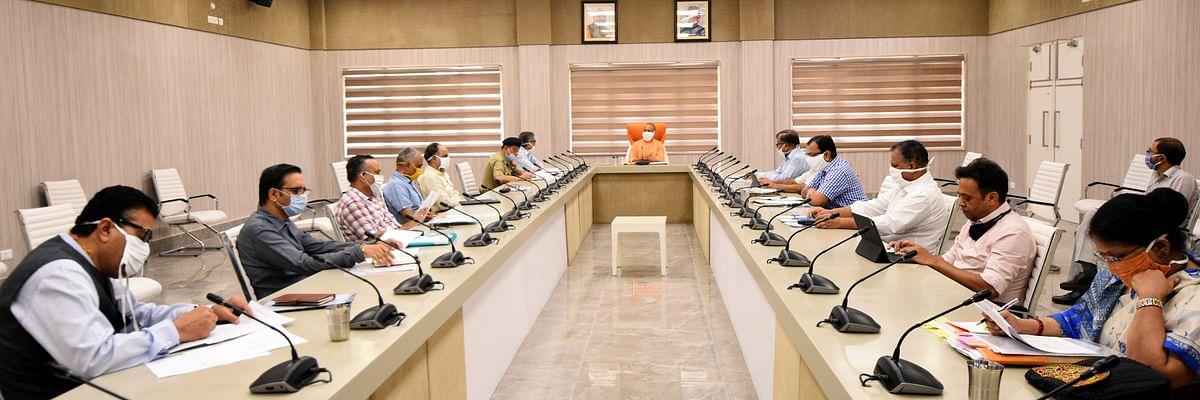 कोरोना के बढ़ते मामलों पर मुख्यमंत्री योगी बोले, प्रतिदिन एक लाख किए जाएं रैपिड एंटीजन टेस्ट