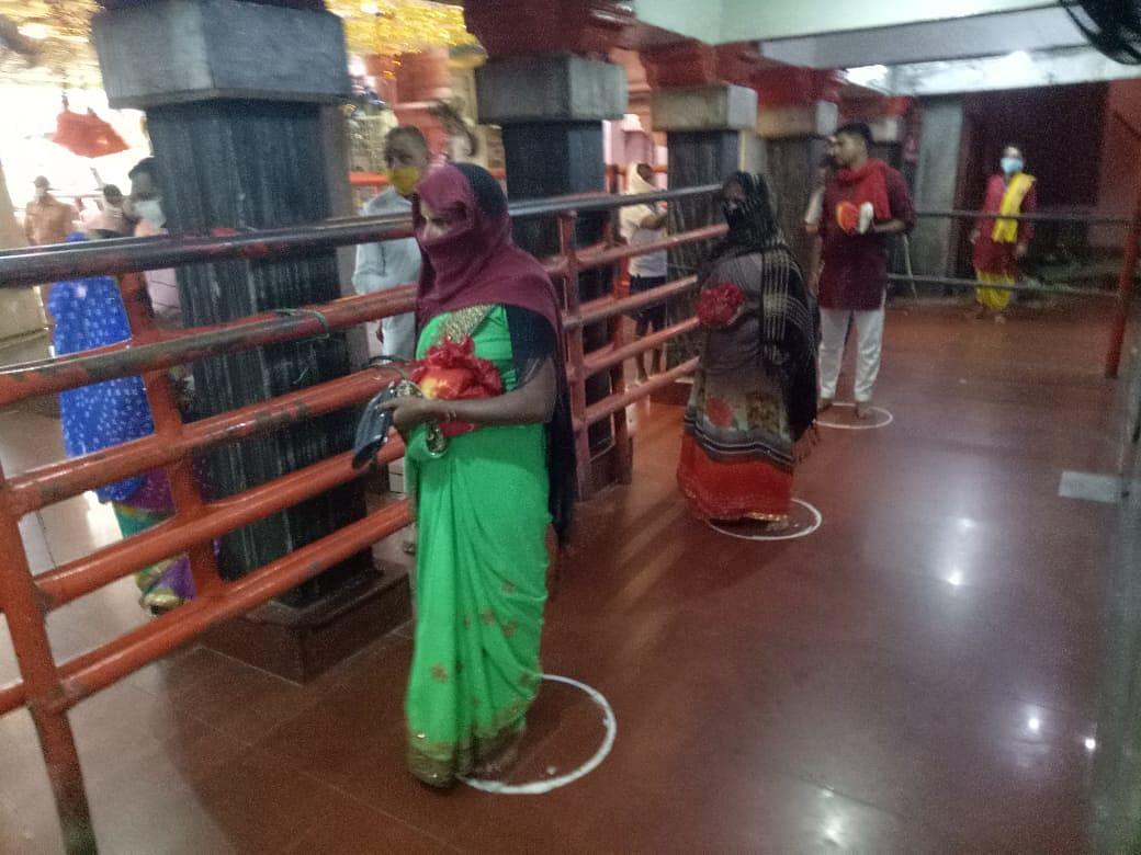 101 दिन बाद खुला विंध्यवासिनी मंदिर, जयघोष से गूंजा विंध्यधाम