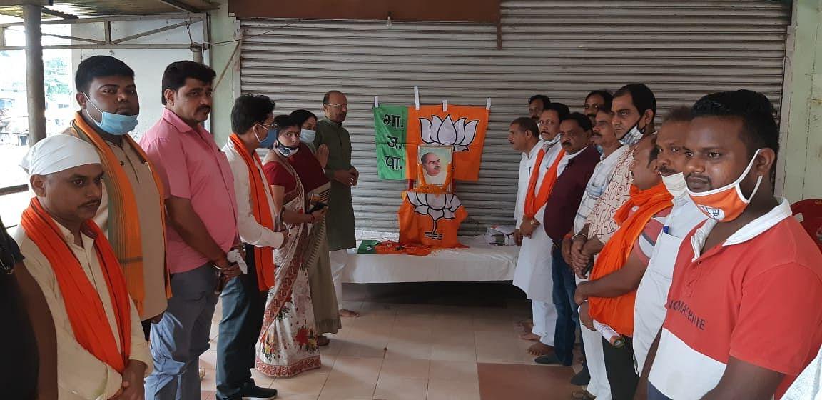 जयंती पर याद किए गए डॉ श्यामा प्रसाद मुखर्जी, भाजपाइयों ने दी श्रद्धांजलि