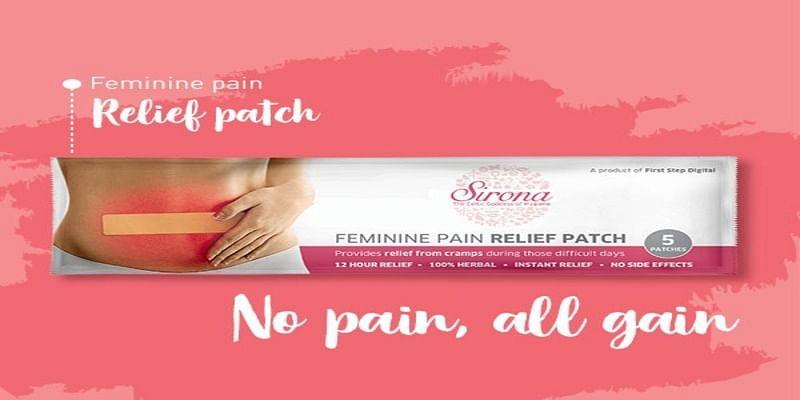 पीरियड्स पेन (period pain) के लिए करे इस्तेमाल ये नेचुरल सिरोना पैचेज