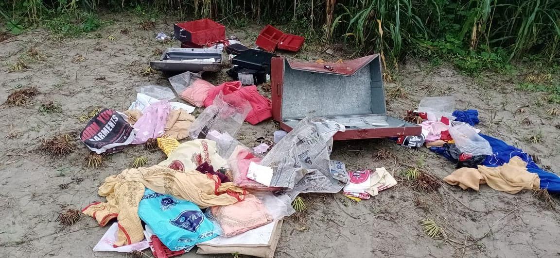 बेगूसराय में थाना से सौ मीटर की दूरी पर  हुई चोरी की बड़ी घटना