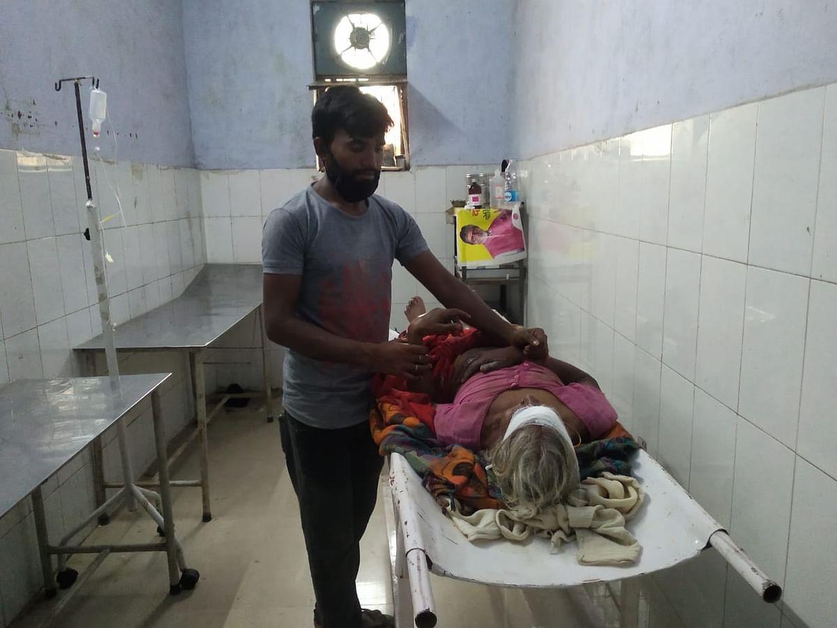 वृद्ध महिला को मवेशी ने दौड़ा-दौड़ा कर किया गंभीर रूप से घायल