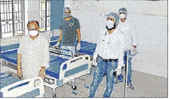भोजपुर के दुल्लौर अस्पताल को कोविड-19 अस्पताल में किया गया तब्दील