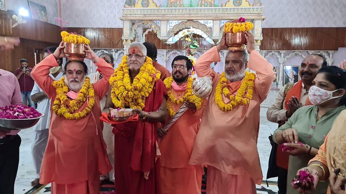 श्रीराम जन्मभूमि मंदिर में भीलवाड़ा की स्वर्ण रजत ईंट का भी होगा उपयोग