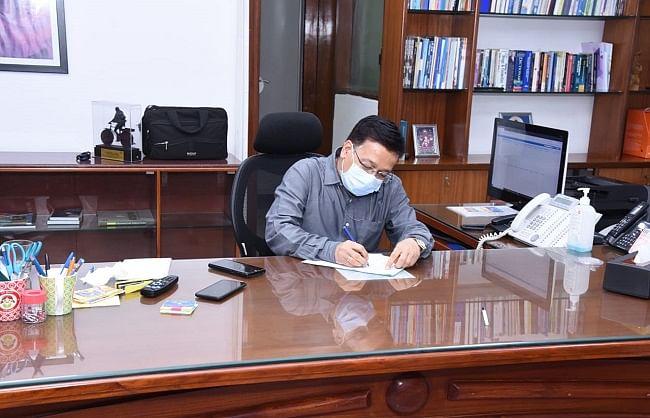 राजेश भूषण ने संभाला केन्द्रीय स्वास्थ्य सचिव का पद