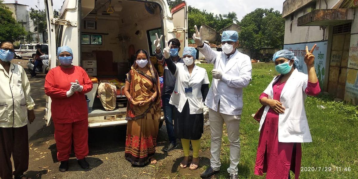 भोपाल और जम्मू  से आये युवक मिले कोरोना संक्रमित, धूमा की महिला स्वस्थ होकर अपने घर पहुंची