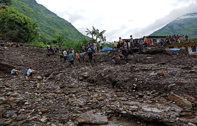 पिथौरागढ़ के टांगा गांव में 2 शव मिले, 9 लोग अब भी लापता