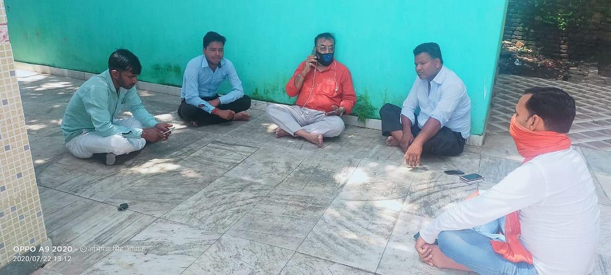 पत्रकार अभिषेक सिंह के हमलावर को एक सप्ताह में पुलिस करें गिरफ्तार नहीं तो होगा उग्र आंदोलन