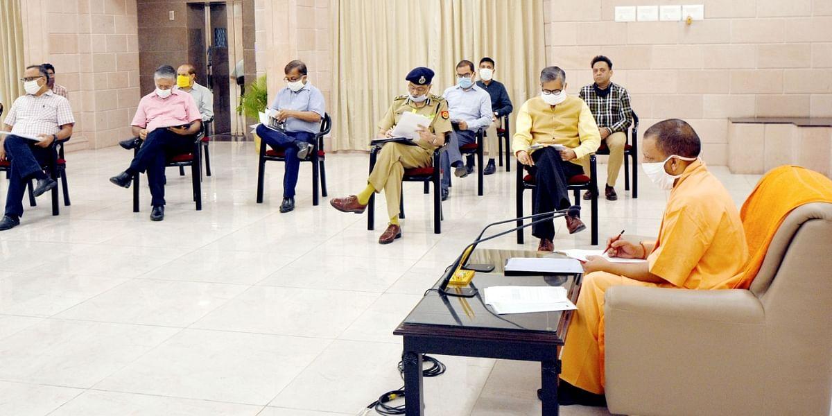 कोरोना के बढ़ते मामलों पर मुख्यमंत्री योगी बोले, प्रतिदिन 50 हजार किए जाएं रैपिड एंटीजन टेस्ट